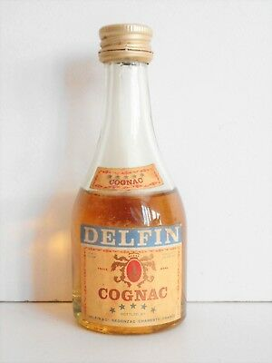 Mini Bottle Cognac Delfin ***** 5 Cl Miniature