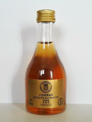 Mini Bottle Cognac De Grailly *** * 50 Ml Miniature