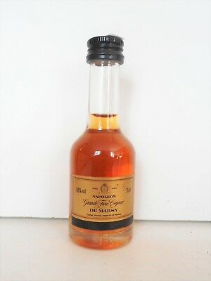 Mini Bottle Cognac De Marsy Napoleon 3 Cl Miniature