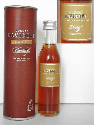 Mini Bottle Cognac Davidoff Classic By Hennessy Vsop (Not 5 Cl) 4 Cl Miniature