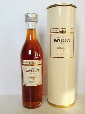 Mini Bottle Cognac Davidoff Extra By Hennessy 5 Cl Miniature