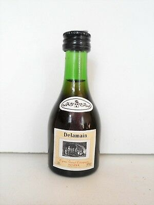 Mini Bottle Cognac Delamain 3 Cl Miniature