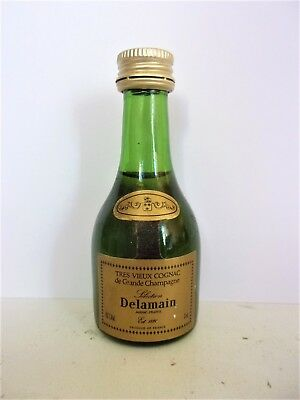 Mini Bottle Cognac Delamain Selection 3 Cl Miniature