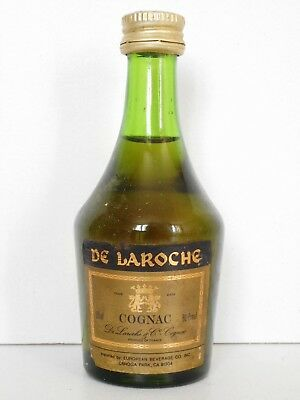 MINI BOTTLE COGNAC DE LAROCHE EXPORT 80ø PROOF 5 CL MINIATURE