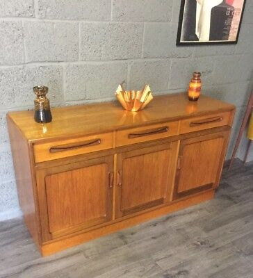 VIntage Mid Century G Plan  Fresco Teak SIdeboard Media Unit Storage