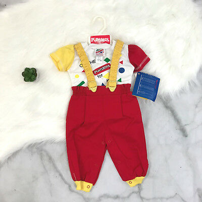 0ed15ceaaad Vintage Playskool NOS Infant Baby Outfit Sz. 12 months Outfit Set Playskool  Kids