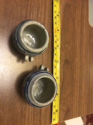 Japanese (?) Chinese (?) Blue And White Small Cups