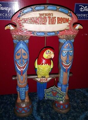 2018 Disney Parks Jim Shore Signed Enchanted Tiki Room Figurine New IN STOCK