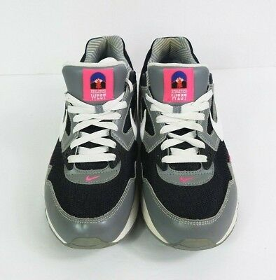 NIKE Air Max Skyline Running Shoes Womens 11 M Gray Pink White 343904-003  EUR 5fc79ebb5