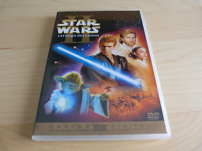 "DVD Star wars Episode II ""master THX digital"""