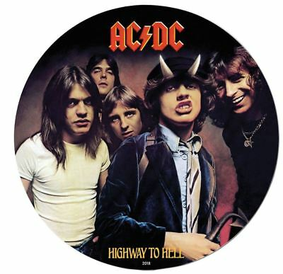 2018 AC/DC HIGHWAY TO HELL 1/2oz Silver Coin Note