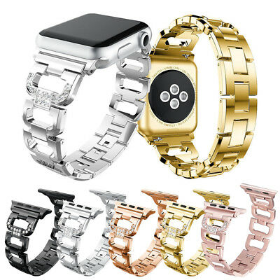 Stainless Steel Bling Diamond Bracelet iWatch Band Strap Apple Watch Series 4321