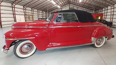 1947 Plymouth Other SPECIAL DELUXE 1947 PLYMOUTH CONVERTIBLE COMPLETELY RESTORED HI QUALITY-NEW INTERIOR-TIRES NICE
