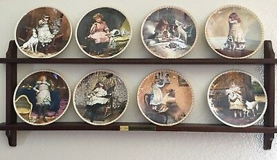 """Royal Doulton """"A Victorian Childhood"""" Plate Collection (set of 8)"""