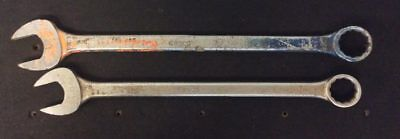 Lot of 2 Easco Wrenches: 2″ and 1-13/16″