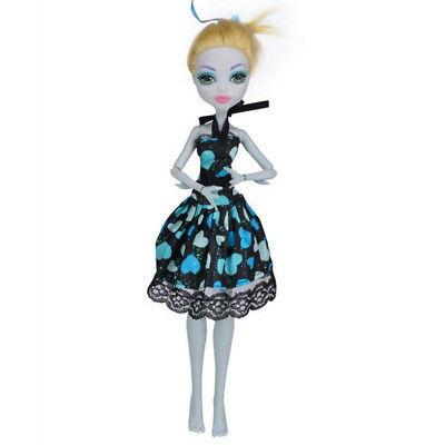 (D) - Cool Fashion Handmade Princess Dress Clothes Gown For Monster High Doll