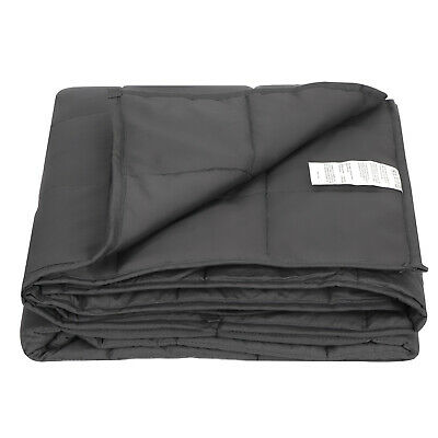 """Weighted Blanket Twin Size Calm Down 48 x 72"""" Full/Twin Size 15lbs Promote Sleep"""