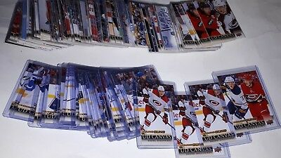 2018-19 UD Upper Deck Series 1 Canvas C1-90 Base &C91-120 YG Young Guns RC UPick