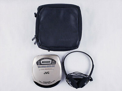 JVC XL-P84CR Portable CD Player w/ Hyper Bass Sound and Triple Shock Protection