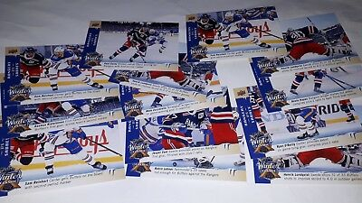 2018-19 UD Upper Deck Series 1 Winter Classic Jumbos WC UPick from list lot