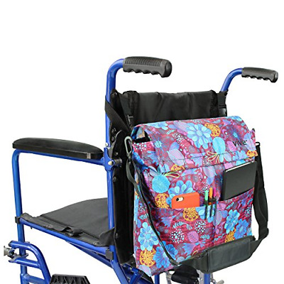 Vive Wheelchair Bag - Wheel Chair Storage Tote Accessory for Carrying Loose and