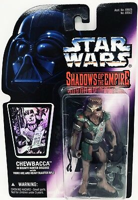 Star Wars Shadows Of The Empire Chewbacca Kenner Brand New Sealed
