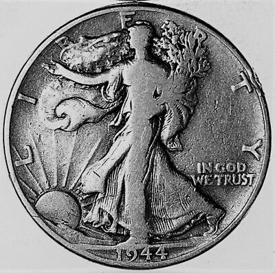 1944 P  Walking Liberty Half Dollar 90% SILVER US Mint COINS COLLECTING NICE !!!