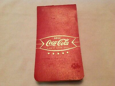 1950's Coca Cola Rare Salesman Advertising Signs Booklet