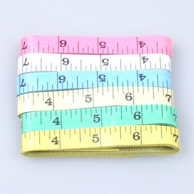 "100 x Measuring Ruler Sewing Cloth Tailor Body Fitness Tape Soft Flat 60"" 150cm"