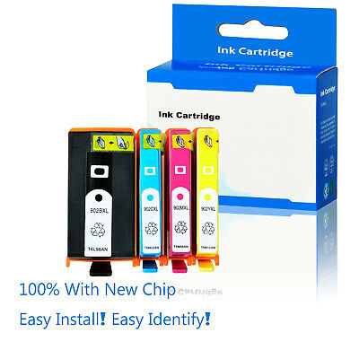 906 XL 902XL BCMY Ink Cartridges for HP Officejet Pro 6958 6962 6975 6978 1,5K