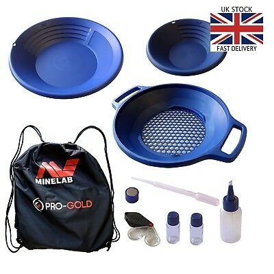 Gold Rush🇬🇧 Minelab Pro-Gold Premium Panning Kit  FREE DELIVERY