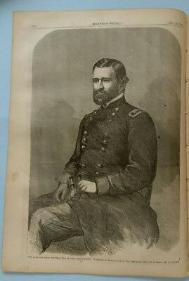 Harper's Weekly 5/28/1864 Great Issue!  U.S. Grant     Winslow Homer centerfold