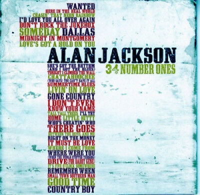 Alan Jackson: 34 Number Ones (CD Special Order Only) by Alan Jackson.