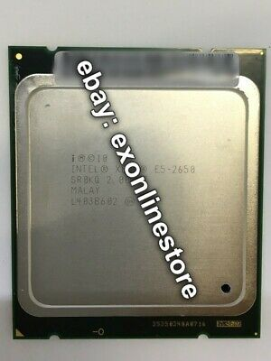SR0KQ - Intel Xeon Processor E5-2650 2GHz 20MB 8GT/s SR0KQ CPU