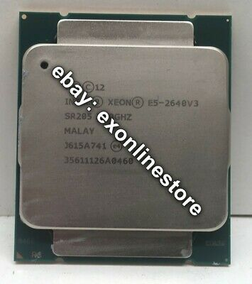 SR205 - Intel Xeon Processor E5-2640 v3 8C 2.6GHz 20MB 1866MHz 90W