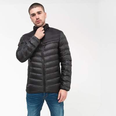 Crosshatch Mens Chankford Quilted Padded Zip Thru Jacket