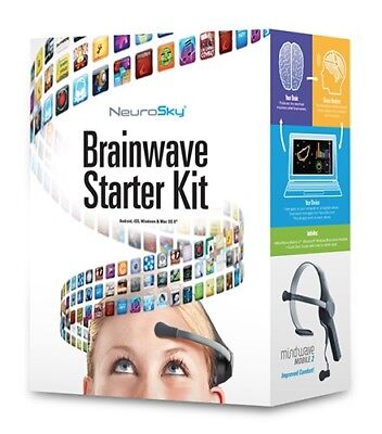 NeuroSky MindWave Mobile 2: Brainwave Starter Kit Free shipping