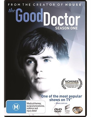 The Good Doctor : Season 1 (DVD, 5-Disc Set) NEW
