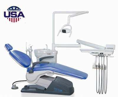 Computer Controlled Dental Unit Chair FDA CE Approve 4Hole 110V TUOJIAN US STOCK
