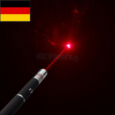 1mW 650nm Red Light Laser Pointer  Continuous Line Visible Beam Presentation DE
