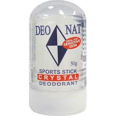 Deonat Crystal Stick Deodorant Sports 50g Natural Chemical Free Protection