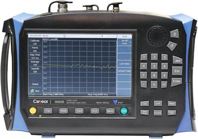 Ceyear 3680A 1MHz-4GHz Handheld Cable and Antenna Analyser