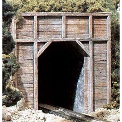 HO Scale Single Track Timber Tunnel Portal #C1254 Woodlands