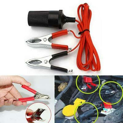 Red / Black Car Battery Test Lead Clip Crocodile Alligator Clamps 20A 30mm