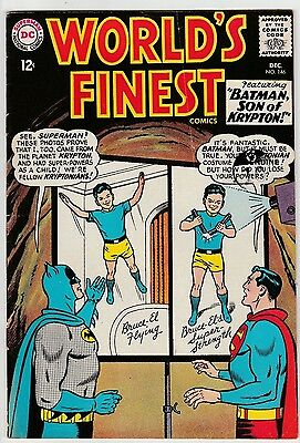 US DC comic Silver Age; WORLD'S FINEST #146 PENCE COPY VG to FN