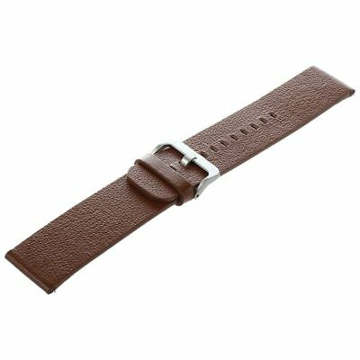 Leather Double Tour Cuff Watch Band Strap For Fitbit Blaze Smart Watch Trac T5U1