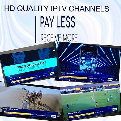 IPTV SUBSCRIPTION, 12 Month HD VODs, Kodi, Android, MAG, iOS