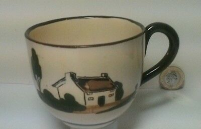 Vintage Motto Babbacombe Pottery Cottage ware Cup