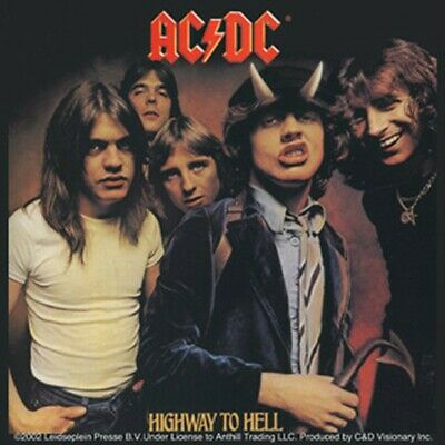 ACDC Aufkleber Highway To Hell Sticker Musik Bands Rock Metal Heavy