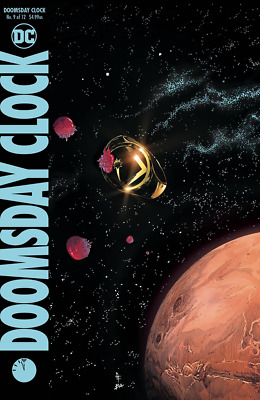 Doomsday Clock #9 (of 12) Gary Frank A Cvr variant FREE Ship Jan FAST Watchman